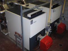 Imag eof white boilers